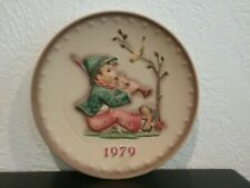 Hummel Plate, 9th Annual Collector Plate, 1979, #272 (Tmk-5) Retail Value $99.00