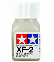 O TAMIYA COLOR FLAT ENAMEL PAINT XF-2 FLAT WHITE Model Kit Paint Hobby New