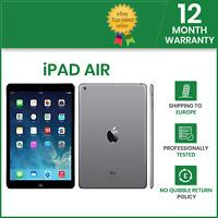 Apple iPad Air 1st Gen 16GB, Wi-Fi, 9.7in Black Grade A+ 12M Warranty iOS 12+ UK