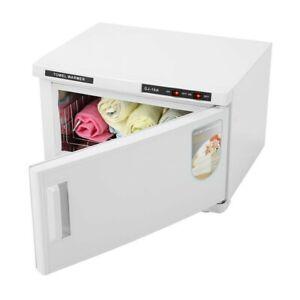 16L Hot Towel Warmer UV Sterilizer Cabinet Nail Facial Tattoo Beauty Spa Salon