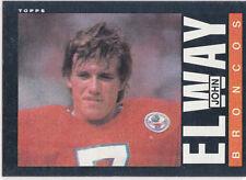 JOHN ELWAY 1985 Topps DENVER BRONCOS VINTAGE Football NFL HOFer 2nd Year Card!