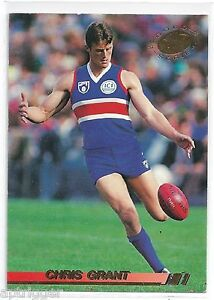 1994 Select Gold Series (81) Chris GRANT Western Bulldogs