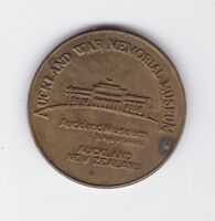 Auckland War Memorial Museum New Zealand Tourist Dollar Medal D-387