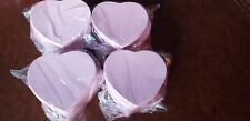 Pink Valentine Heart Shape Chocolate Candy Box; 8oz Hbspp 12 pcs (4pck of 3)