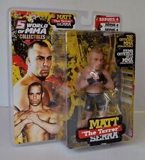 "Round 5 - UFC World of Champions ""the Terror"" MATT SERRA Series 4 WELTERWEIGHT"