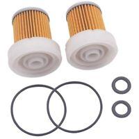 2 Pcs 6A320-59930 Fuel Filter with O for Kubota B3030 B7400 L3800DT L3800F Q4R5