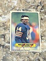 1983 Topps Sticker Walter Payton #24 Chicago Bears HOF NFL Football Card