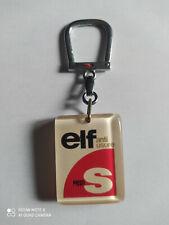Porte-clés BOURBON Huile ELF Anti Usure S keychain vintage années 60