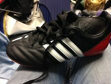 ADIDAS PREDATOR  PULSADOBLADE  4 5OR 5.5 UK AT £10 BLACK BOOTS MAN MADE LEATHER