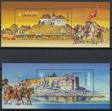 UKRAINE.2017 EUROPA CEPT. BLOCKS FROM BOOKLET Not glued to the cover.MNH