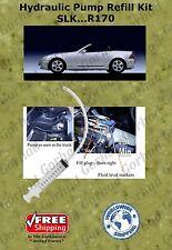 96-04 Mercedes Hydraulic Pump Refill Kit SLK 230 320 Hardtop Convertible R170