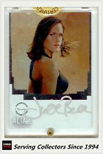Inkworks Alias Season 3 Julie Bell Signature Card CL1 ( In hard case)