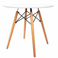 Replica Eames DSW Eiffel Dining Table White Kitchen Side Cafe Round 80cm