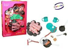 AROUND THE CAMPFIRE OUR GENERATION FOR18'' DOLL ACCESSORIES CAMPING FEU DE CAMP