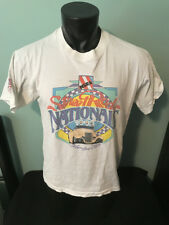 Vtg 1993 NSRA Street Rod Nationals Columbus Ohio Car Racing Shirt Mens Large USA