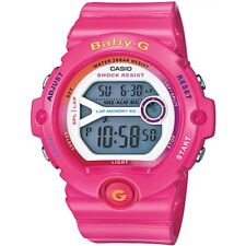 Casio Ladies Baby-g Lap Memory 60 Pink Chronograph Watch