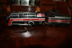 VTG Wyandotte Railway, Wind Up Locomotive W.R.L. 970 & Coal Car W.R.L. 3689.