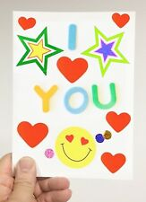 DIY Recordable Voice Blank Greeting Card - Pully to Play  - 30 seconds audio