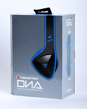 Monster DNA Noise Isolating On-Ear Headphones w/Mic & ControlTalk Blue/Black