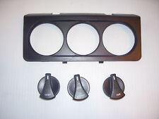 NEW 87 88 89 Mustang Heater & AC Control Knob Set & Bez