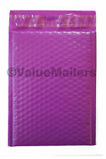 100 #2 ( Purple ) Poly Bubble Mailers Envelopes Bags 8.5x12  Colors Stand Out