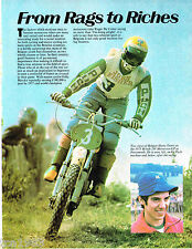 HARRY EVERTS MOTORCYCLE Racing Article / Photo's / Pictures