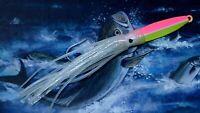 4oz diamond fishing rockfish striper seabass lure jig VMC squid glow hook 2810