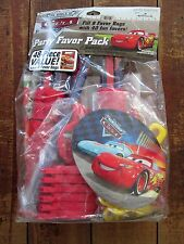 Hallmark NEW Disney Pixar Cars Party Favor Pack Express 8 Bags 40 Items Sticker
