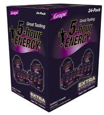 5 HOUR ENERGY SHOT Extra Strength Grape 1.93 oz. ea., 24 pk.