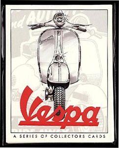 VESPA  Original Collectors Cards - 150cc 90SS Gran Sport Rally 180 200 Sportique