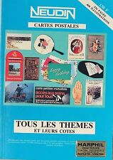 COLLECTION NEUDIN - REPERTOIRE DES CARTES POSTALES - 1989 - 15° ANNEE