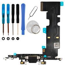 iPhone 8 PLUS DOCK CONNECTOR LADEBUCHSE Mikrofon Antenne Flexkabel Set schwarz