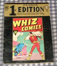"1974 Famous first Edition ""Whiz Comics"",February,1940 Captain Marvel,DC,SHAZAM!"