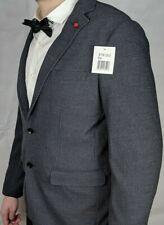 Marken Herren Sakko Gr. 54 58 XL XXXL Schwarz Grau Anzug Classic International🔥