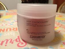 Giovanni Hot Chocolate Sugar Scrub with Crushed Cocoa Beans Large Jar Brand New