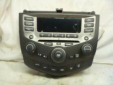 03-07 Honda Accord Radio Cd Face Plate Replacement Dual Climate 7Bk2 Apq18
