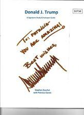 Donald J. Trump, A Signature Study & Autopen Guide
