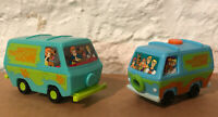 Scooby Doo Burger King Kids Meal Mystery Machine Lot Of (2) VERY COOL SET!