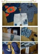 46x ZARA NEXT NEW USED BUNDLE OUTFITS BABY BOY 18/24 MTHS PHOTOS IN DESCRIPTION5