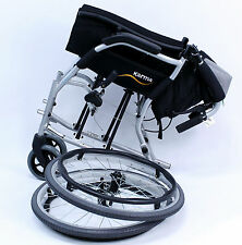 "Karman Ergonomic Wheelchair Ergo Flight Quick Release Axles S-2512Q 16"" NEW"