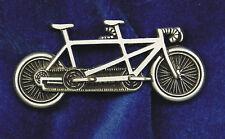Empire Pewter Tandem Bike Pin
