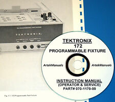 TEKTRONIX Operating & Service Manual for 172 Programmable Test Fixture (for 576)