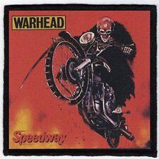 WARHEAD PATCH / SPEED-THRASH-BLACK-DEATH METAL