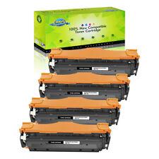 4PK Black CE410A 305A Toner For HP LaserJet Pro 400 color M451dn M451dw M451nw