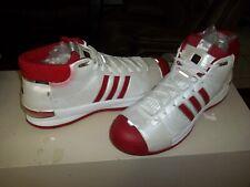 Men's 2008 Adidas TS PRO MODEL Basketball Shoes SZ 17 US Red & White