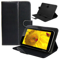 Universal Leather Stand Cover Case For 10 10.1 Inch Android Tablet PC Stylish AU