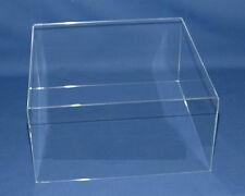 sudu® sammel 50x20x10cm Acrylglas Vitrine Plattenspieler Abdeck Haube