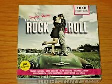 EU IMPORT - 10 CD ROCK & ROLL COLLECTION BOX SET - VARIOUS ARTIST COMPILATIONS
