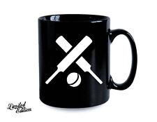 Cricket Sport Customize Black Coffee Mug