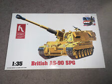 Hobby Craft, 1:35 scale, British As-90 Spg 155mm, Iraq, Display Model Kit#Hc6004